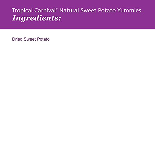 Image of F.M. Brown'S Tropical Carnival Natural Sweet Potato Yummies With Vitamin C, 3.5-Oz Bag - Nutritious Treat For Rabbits, Guinea Pigs, Chinchillas And Other Small Animals
