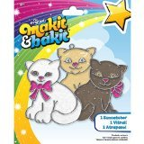 Colorbok MaKit, and BaKit, Glittering Suncatcher Kits, Kittens by Colorbok