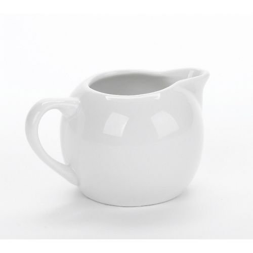(Bia Cordon Bleu Inc Bia Cordon Bleu Inc 904029 8 Oz White Porcelain Cream Jug, White)