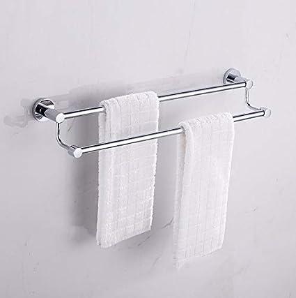 Toalleros toallero Acero inoxidable 304 doble barra ...
