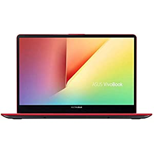 Asus Vivobook S15 S530FN-BQ006T (i5-8265U/15.6'FHD IPS/8GB DDR4 2400/Windows 10/Nvidia GeForce MX150 2 GB GDDR5/1TB HDD and 256 GB SSD/802.11ac), Red and Grey