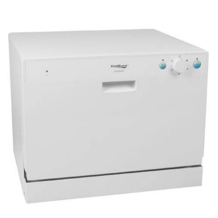 Koldfront 22 Inch Wide 6 Place Setting Countertop Dishwasher