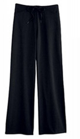 Pantaloni da yoga per uomo con cordoncino, colore nero