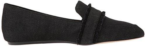 Denim Denim Flat Loafer Black Baruti Nine Women's West Z0wPf