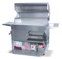 - Hasty-Bake Hastings 290C Stainless Steel Cart Model Charcoal Grill