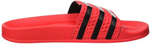 real Black Adidas real core Aperte Retro Sul Coral S18 S18 Pantofole Rosso Uomo Adilette aaw7SF