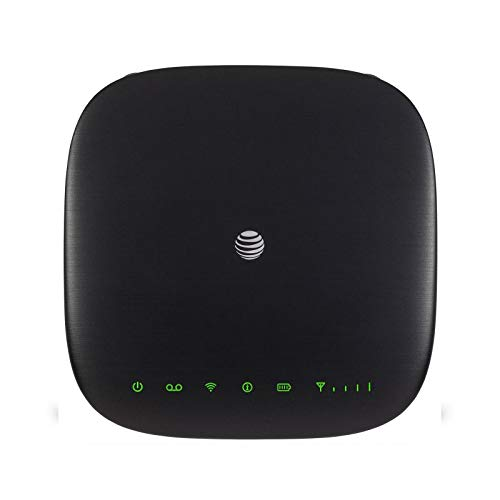 ZTE Home Wireless WiFi 4G LTE Phone and Internet Device Router Base (AT&T Unlocked) (Best Hotspot Device For Home)