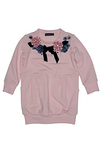 Kate Mack Girl's 2-6X Indigo Rose Sweatshirt Dress, Pink ...