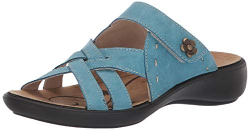 Romika Women's Ibiza 99 Sandal, Azure, 41 Medium US