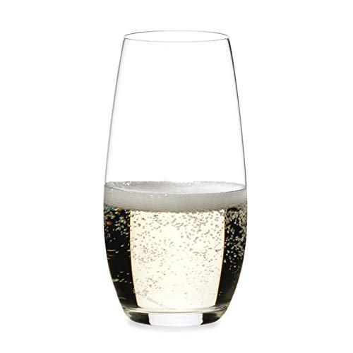 Casual Elegance O Stemless Champagne Flutes Set of 2