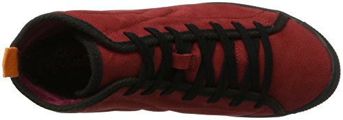 Women's Hi Red Red Trainers Top Smooth Izi399sof Softinos 004 qwStESz