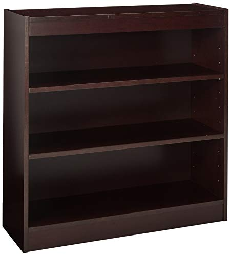 Lorell 3-Shelf Panel Bookcase, 36 by 12 by 36-Inch, - Inch Bookcase Wide 36