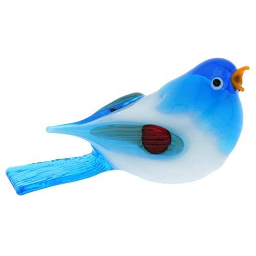 - GlassOfVenice Murano Glass Baby Bird - Light Blue