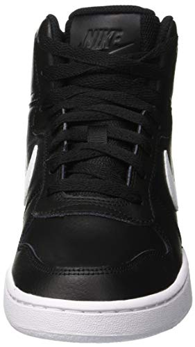 Basketball Nike Noir White 001 Mid de WMNS Black Ebernon Chaussures Femme Fx4On