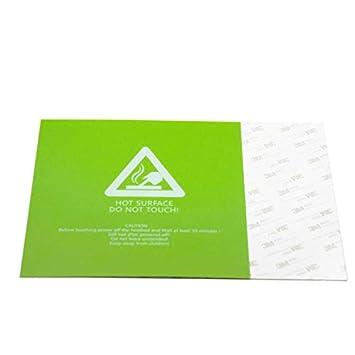 Etiqueta de la plataforma de la impresora 3D Papel con textura de ...