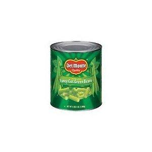 Del Monte Fancy Cut Green Beans, 96 Ounces (Pack of 2)
