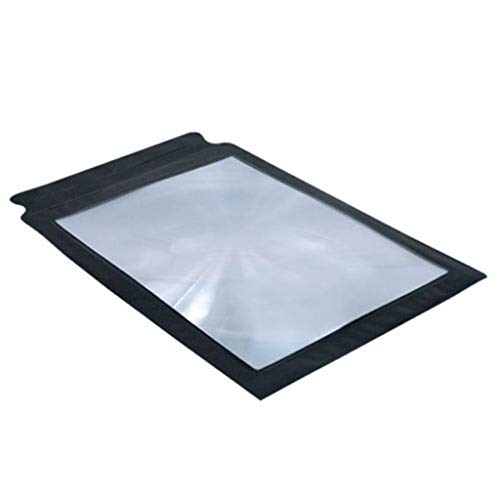 Kiorc A4 Full Page Large Sheet Magnifier Magnifying Glass Reading Aid Lens Fresnel Ne ()