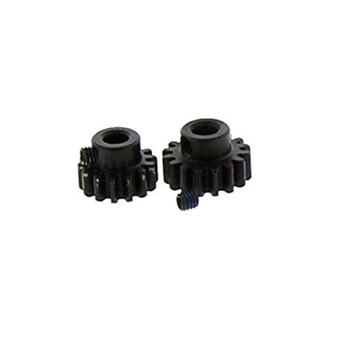 Arrma Senton 6S BLX SC 1/8: HQ Steel 14T & 16T MOD1 Pinion Gears & Set Screws -