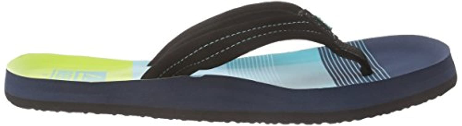 Reef Ahi, Boys Flip Flops, Multicolor (Aqua/Green), 3.5 Child UK (35/36 EU)