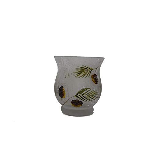 (Yankee Candle Frosted Pinecone Votive Holder)