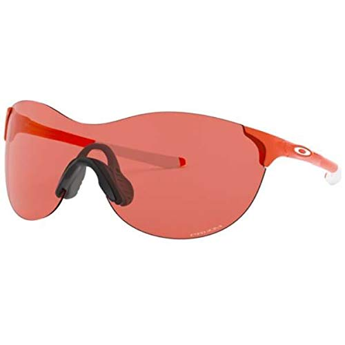Oakley Women's EVZero Ascend Sunglasses,OS,Safety Orange/Prizm Peach (Sunglasses Orange Oakley)