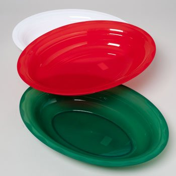 - Christmas Colors Serving Platter Oval (Pack of 3) Size - 16.75