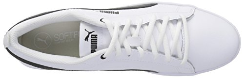 Femme Pour V2 puma White Smash Puma Black L Chaussures qwBxXxgP