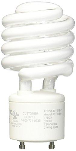 LBL Lighting GU24/27 2700K Compact Fluorescent GU24 Self-Ballasted 27-Watt Spiral Bulb