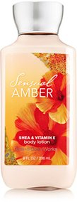 Bath & Body Works Sensual Amber Body Lotion, 8 oz.