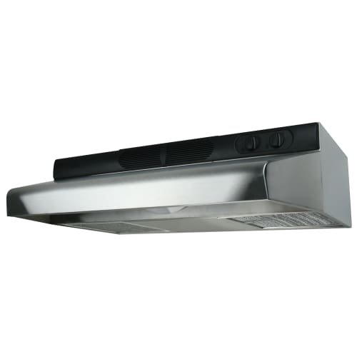Air King ECQ36 270 CFM 36 Inch Wide Energy Star Certified Under Cabinet Range Ho, Stainless Steel by Air King