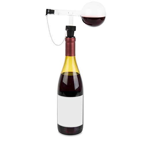 Wine Decanter, Vino Decantare, Glass Decanter, Corkscrew, Premium Decanter, Scratch Resistant, Fastest and Perfect Aeration in Time, Keeps Wine Fresh and Flavourful, Awakes all Smells and Flavours