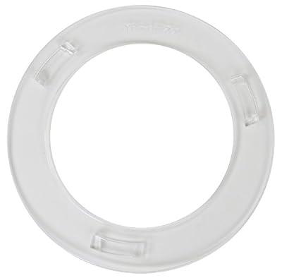 "Sunlite Cassette Spoke Protector, 4.25"" ID 6.25"" OD, 36H, Clear"