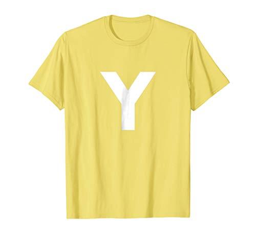 CMYK Yellow Y Color Halloween Custome Shirt- Funny -