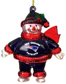 SC Sports NFL New England Patriots Ornament 2 3/4
