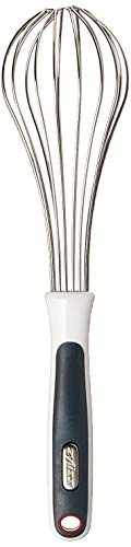 ZYLISS Small Kitchen Wire Whisk - Mini Balloon Egg Beater - Stainless Steel, 8 in (Small Wire Whisk)