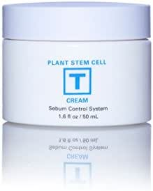 Plant Stem Cell Beauty Skin Restoration Sebum Cream Imported from Korea: Control Oil, Protect/Soothe Skin, Reduce Blemishes Acne with Active Plant Stem Cells (Clinical Strength) 1.6 fl. oz