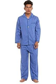 Uomo Taglia Grande Tinta Unita Tradizionale Pigiama Classic Set Abbigliamento  da Notte con Paio di Skechers 7769b360dec