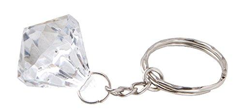 Clear Diamond Collection Diamond Design Key - Keychain Collection Design Diamond