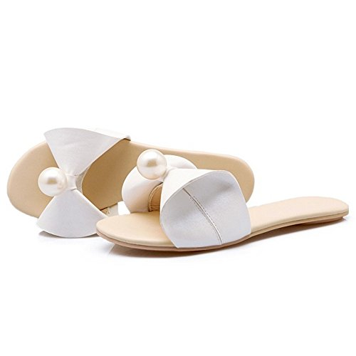 Bianco Fashion Flats Slides Coolcept Women Wwn4YqxB
