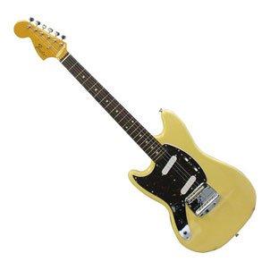 Fender Japan MG69/LH YMH Reissue Mustang guitar Electric Guitar Left Handed (Japan Import)