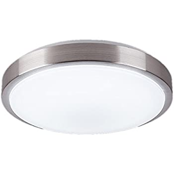 Zhma 8 inch led ceiling lights flush mount lighting round4500k natrual white