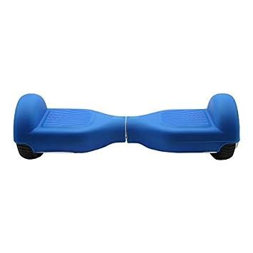 SmartGyro Serie X Silicone Cover Schutzhülle, Unisex Erwachsene M Rutschfest Blau für 16 51 cm (6