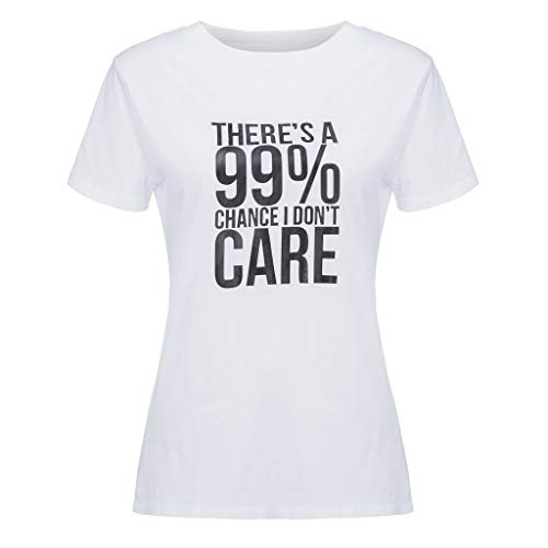 NEARTIME Letter Printed Funny T Shirt Women's Summer Soft Slim Lover Casual Short Sleeve Tops Blouse