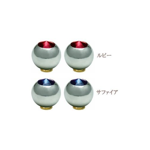 GP(ギザ プロダクツ) バルブ キャップ クローム(2ケ)