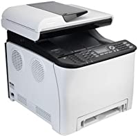 Ricoh 407525 Aficio SP C252SF - Multifunction printer - color - laser - Legal (8.5 in x 14 in) (original) - Legal (216 x 356 mm) (media) - up to 21 ppm (copying) - up to 21 ppm (printing) - 250 sheets - 33.6 Kbps - USB 2.0, LAN, Wi-Fi(n), USB host