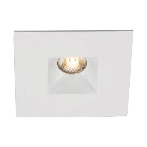 WAC Lighting HR-LED271R-C-WT 1 Light 4500K Square Open Reflector Recessed LED from the LEDme Collection, White Ledme 1 Light