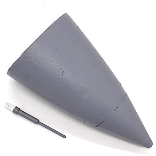 Kamas Nose Cone for RC Airplane EDF Jet New Flightline F16 70mm ()