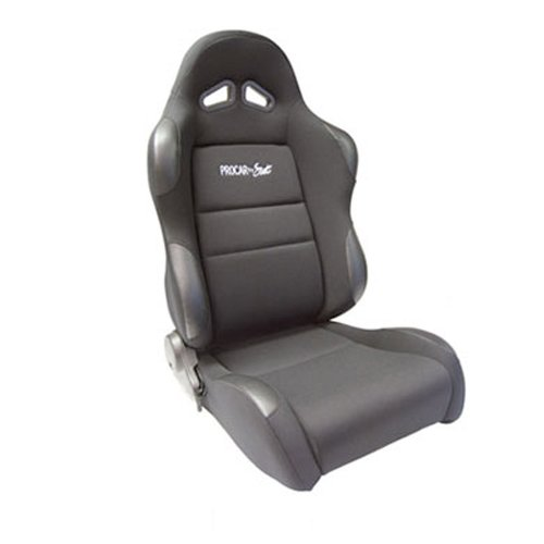 ProCar by Scat 80-1606-61R Sportsman Black Velour Right Racing - Racing Seats Car
