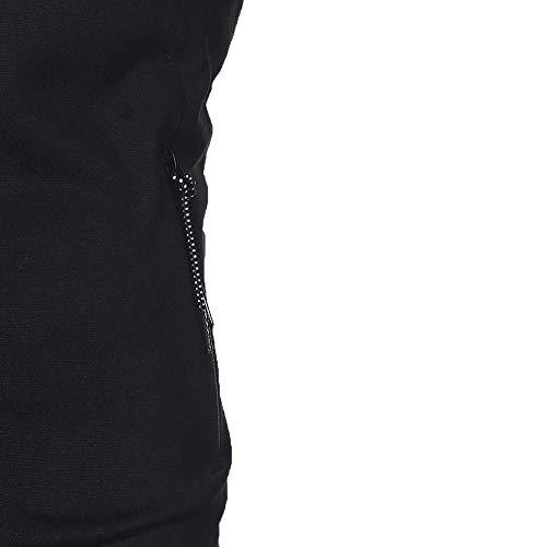Manica Felpa Pullover Con Lunga Giacca 1 shirt Felpe Cappuccio Sweatshirt Outwear Di Set Top Uomo Sportiva Inverno Nero Cappotto Challenge Autunno Pantaloni Hooded Hoodie T Tuta YCwdqCf