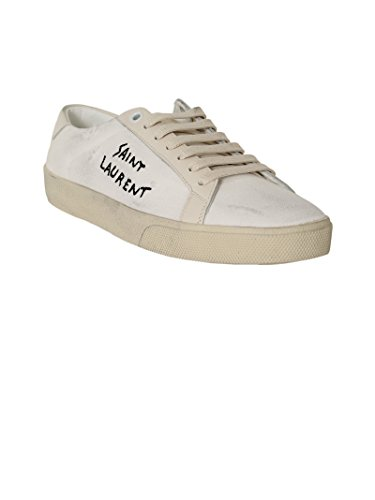 Saint Laurent Zapatillas Para Mujer Weiß It - Marke Größe, Color, Talla 36 IT - Marke Größe 36